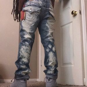 BNWT Men's True Bleached Jeans